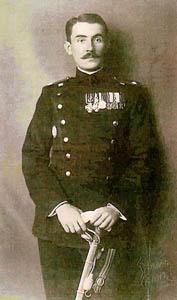 Радоје Јанковић као официр српске војске 1913. године